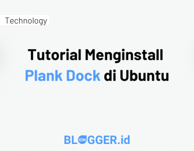 Tutorial Menginstall Plank Dock